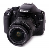 Canon EOS 550D m/18-55mm IS