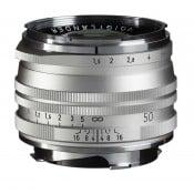 Voigtländer Nokton 50mm f/1,5 II S.C. VM Silver