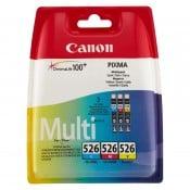 Canon CLI-526 C/M/Y multipakke
