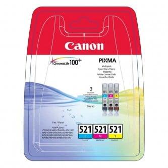 Canon CLI-521 C/M/G multipakke