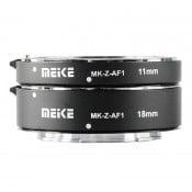 Meike Extension Tube set til Nikon Z