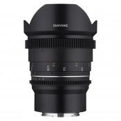 Samyang 14mm T3.1 VDSLR MK2 Canon M