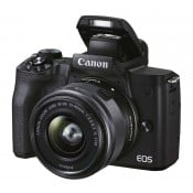 Canon EOS M50 Mark II m/15-45mm S sort
