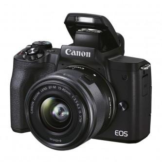 Canon EOS M50 Mark II m/15-45mm STM sort