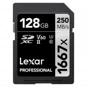Lexar 128GB Pro 1667X SDXC UHS-II U3 (V60)