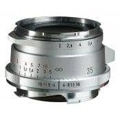 Voigtländer Ultron 35mm f/2 II VM sølv