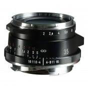 Voigtländer Ultron 35mm f/2 II VM sort