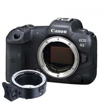Canon EOS R5 fullframe kamerahus inkl. commlite EF adapter
