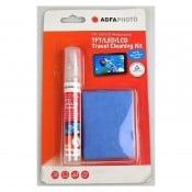AgfaPhoto rejse-rengøringssæt til TFT/LCD