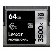 Lexar 3500x CFast 2.0, 64 GB, VPG-130