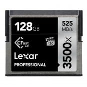 Lexar 3500x CFast 2.0, 128 GB, VPG-130