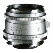 Voigtländer Ultron 28mm f/2 II VM sølv