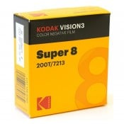 Kodak Vision3 50D 7203, 8 mm x 15 m Perf. 1R smalfilm