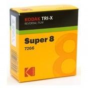 Kodak Tri-X 200D 7266, 8 mm x 15 m smalfilm