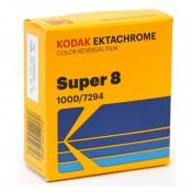 Kodak Ektachrome 100D 7294, 8 mm x 15 m Perf. 1R smalfilm