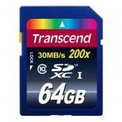 Transcend 64 GB SDXC-kort Class10