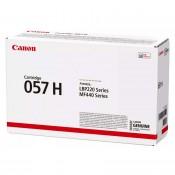 Canon 057 H sort lasertoner