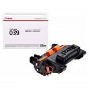 Canon 039 sort lasertoner