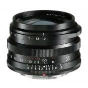 Voigtländer Nokton 35mm f/1.2 sort Fuji X-mount