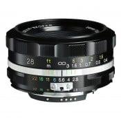 Voigtländer Color Skopar 28.mm f/2.8 SLII-S til Nikon Ai-S, sort