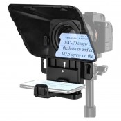 SmallRig 3374 Portable Tablet/Smartphone/DSLR Teleprompter