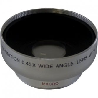 Wide 5430W 0,45X HD Digital Lens W/Macro 30mm