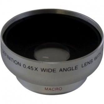Wide 5430W 0,45X HD Digital Lens W/Macro 30mm