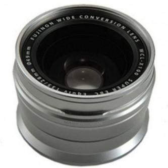 Fuji X100 Wide Angle Lens Silver