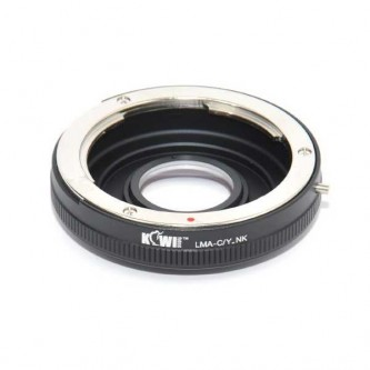 Kiwi Contax lens til Nikon