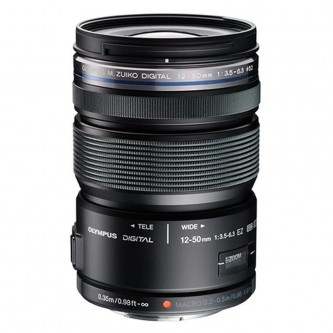 Olympus 12-50mm f/3,5-6,3 EZ sort