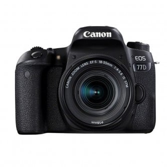 Canon EOS 77D m/18-55mm f/4-5.6 IS STM