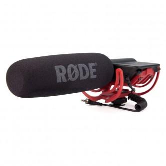 Røde Video Mikrofon med kaberasko Rycote