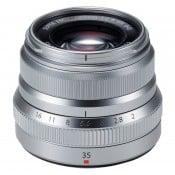 Fujinon XF 23mm f/2,0 R WR, Silver