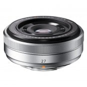 FUJINON XF 27mm f/2,8 sølv