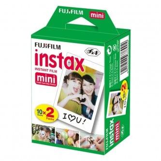 Fuji Instax 20 pack. Mini Film 2x10 stk