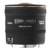 Sigma AF 4,5 mm f/2,8 Fisheye DC Canon