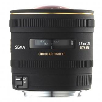 Sigma AF 4,5 mm f/2,8 Fisheye DC Nikon