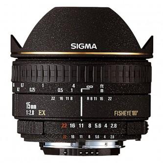 Sigma AF 15 mm f/2,8 DG Fisheye