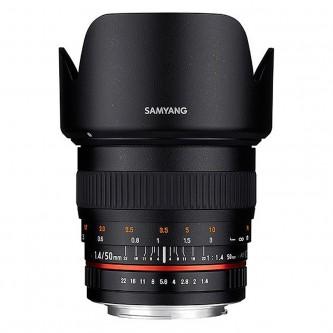 Samyang 50mm f/1,4 (full-frame) Canon M