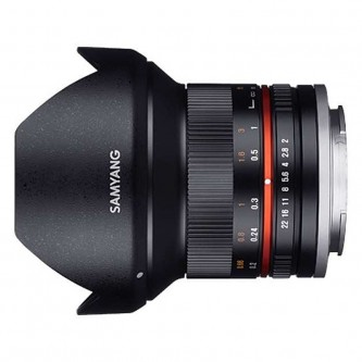 Samyang 12mm f/2,0 (APS C) Canon M Sort