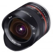 Samyang 8mm f/2,8 Fisheye (APS C) Fuji X