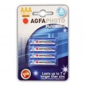 Agfa Batterier AAA Platinum alkaline 4 pak