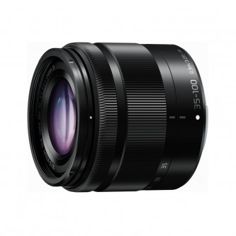 Panasonic 35-100mm f/4,0-5,6, Sort