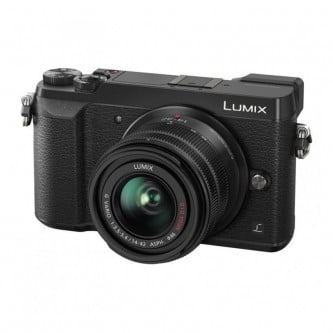 Panasonic Lumix GX80 m/14-42mm sort