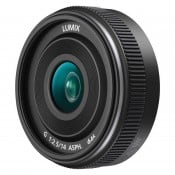 Panasonic 14mm f/2,5 II, sort