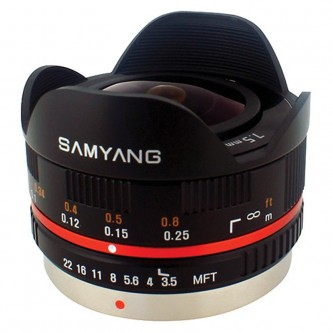 Samyang Pan/ol 7,5mm 3,5 Fisheye 4/3