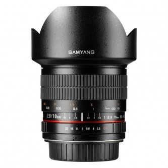 Samyang 10mm f/2,8 ED AS NCS (APS C) MTF