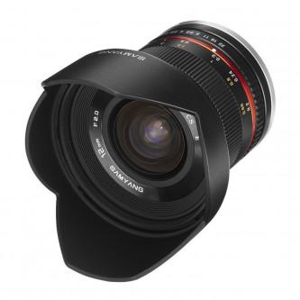 Samyang 12mm f/2,0 Sony E sølv