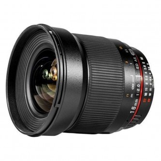 Samyang 16mm f2,0 ED Nikon