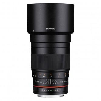 Samyang 135mm f/2,0 (full-frame), Canon EF